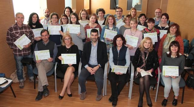 El proyecto europeo Medes forma y diploma en mediación escolar a un grupo de profesionales italianos de Sacile en Vila-real